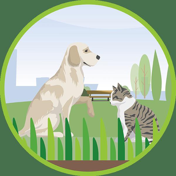 resistente e adatta per animali