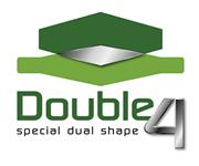 erba sintetica double 4 logo